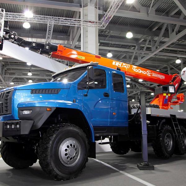 Автозавод «Урал» представляет на выставке bauma CTT RUSSIA 2018 технику для строительной отрасли - TexUral - Запчасти для автомобилей Урал