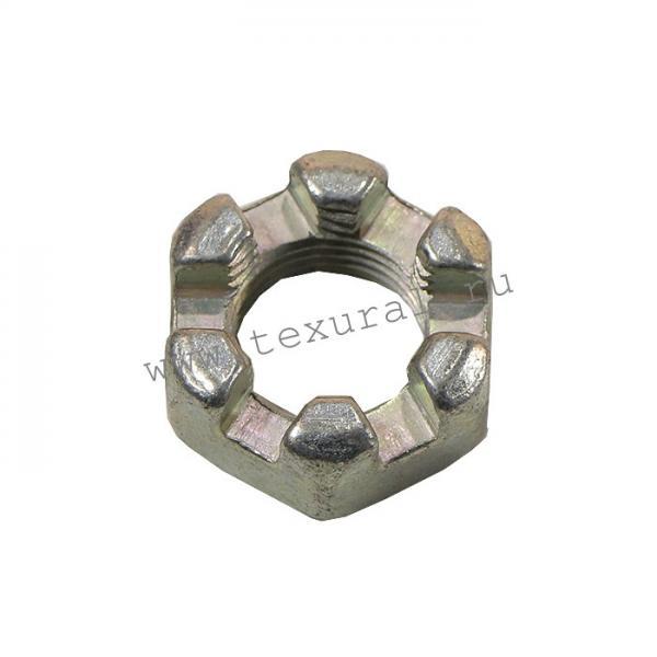 Гайка М16х1,5 (крепления дифференциала редуктора,под шплинт)-TexUral